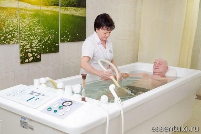 Лечение диабета ваннами с минеральной водой
